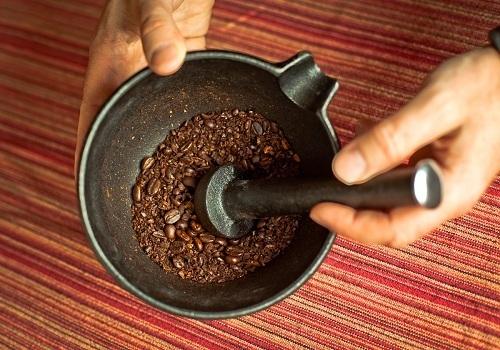 Manual Grinder of Coffee