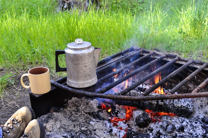 How to Make Percolator Coffee on a Campfire