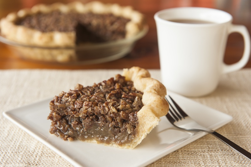 Pecan Pie with Coffee - holiday recipes featuring coffee as an ingredient - Coletti Coffee